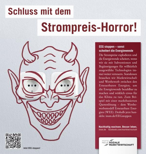 Motiv Printanzeige für das Handelsblatt, 13.09.2012; Quelle: INSM-website