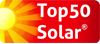 Unsere Internetseite ist bei TOP50-Solar registriert!